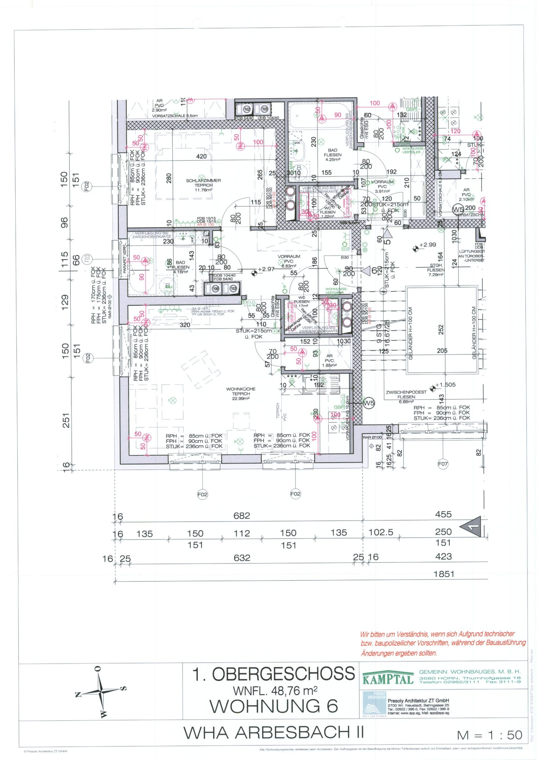 Immobilie von Kamptal in 3925 Arbesbach, Zwettl, Arbesbach II - Top 6 #8