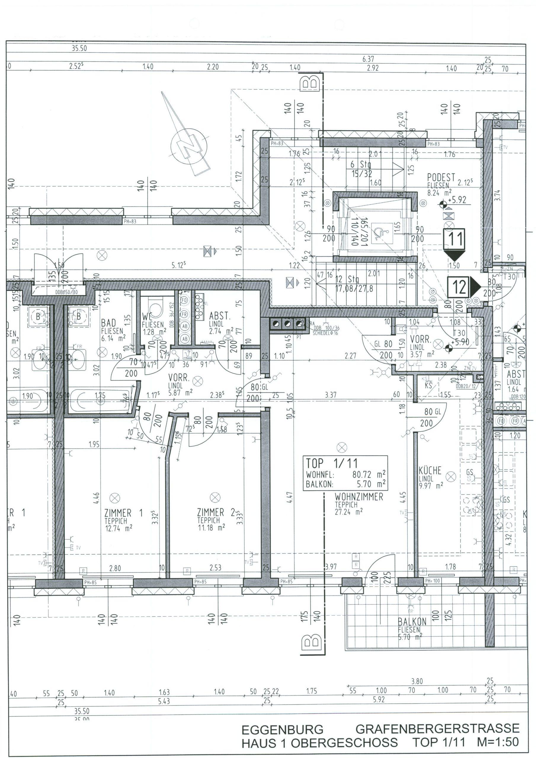 Immobilie von Kamptal in 3730 Eggenburg, Horn, Eggenburg V/2 - Top 111 #12