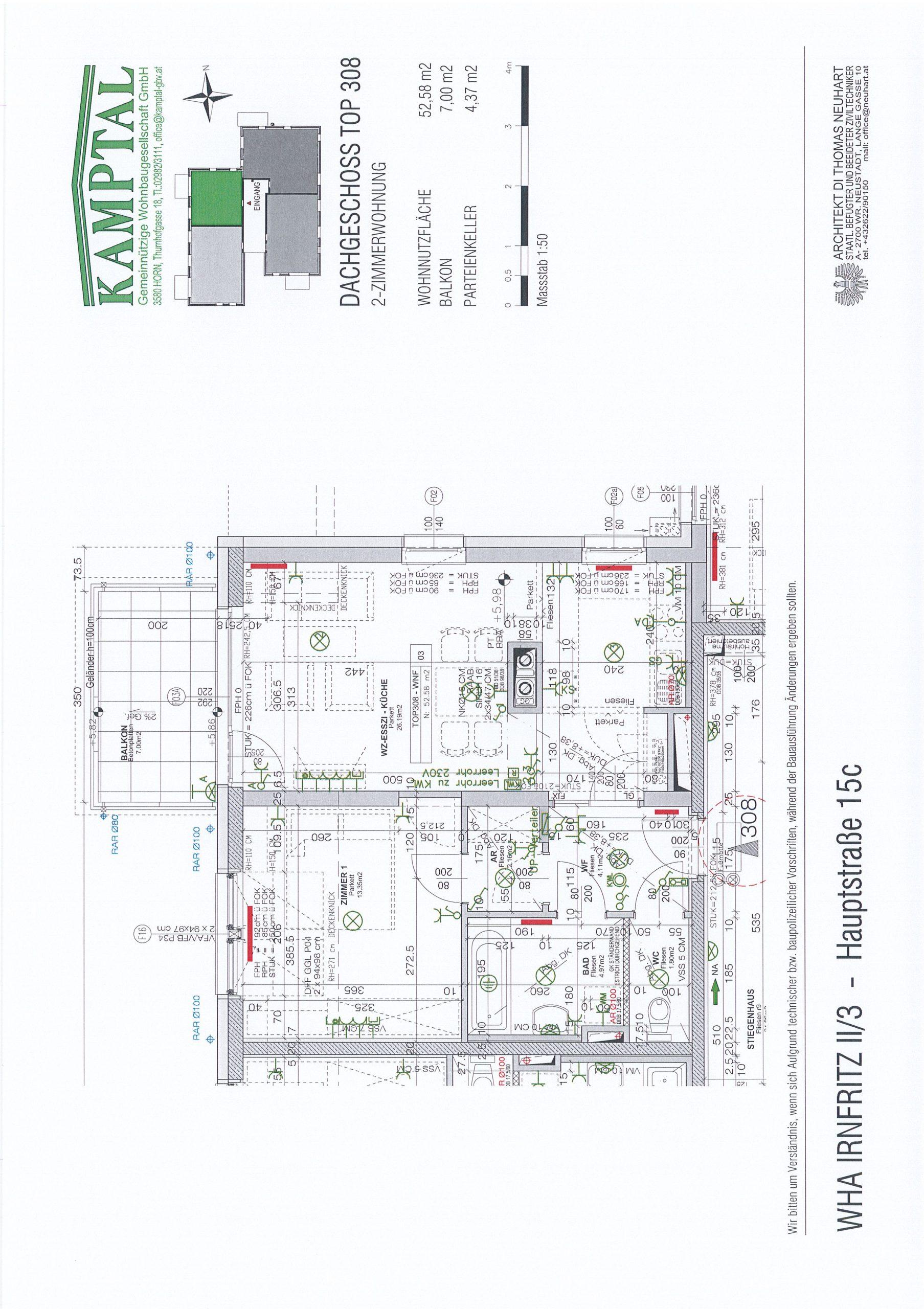 Immobilie von Kamptal in 3754 Irnfritz, Horn, Irnfritz II/3 - Top 308 #9