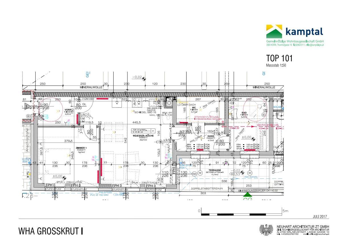 Immobilie von Kamptal in 2143 Großkrut, Mistelbach, Großkrut I - Top 101 #0