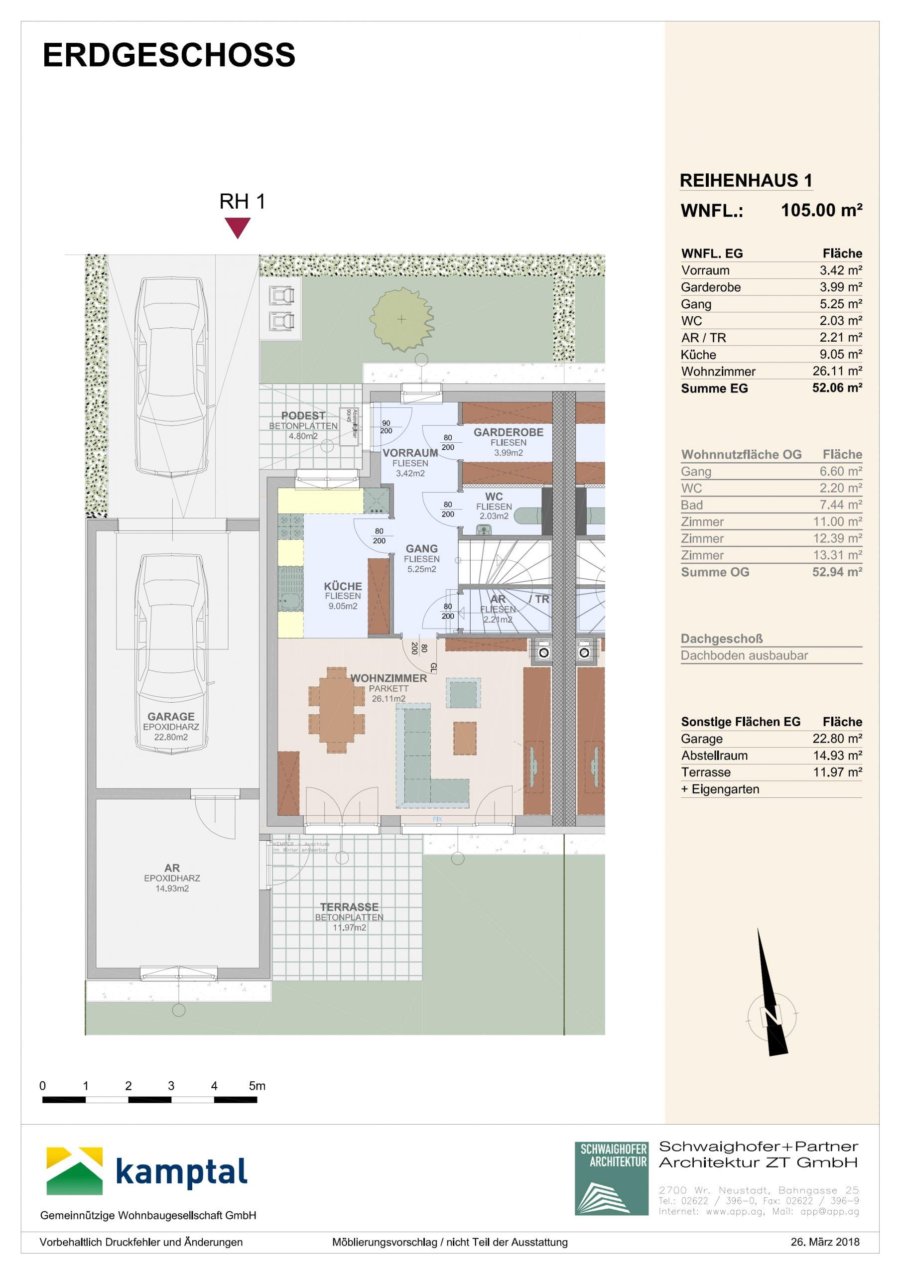 Immobilie von Kamptal in 2136 Laa an der Thaya, Mistelbach, Laa/Thaya XVIII - Top 7 #0