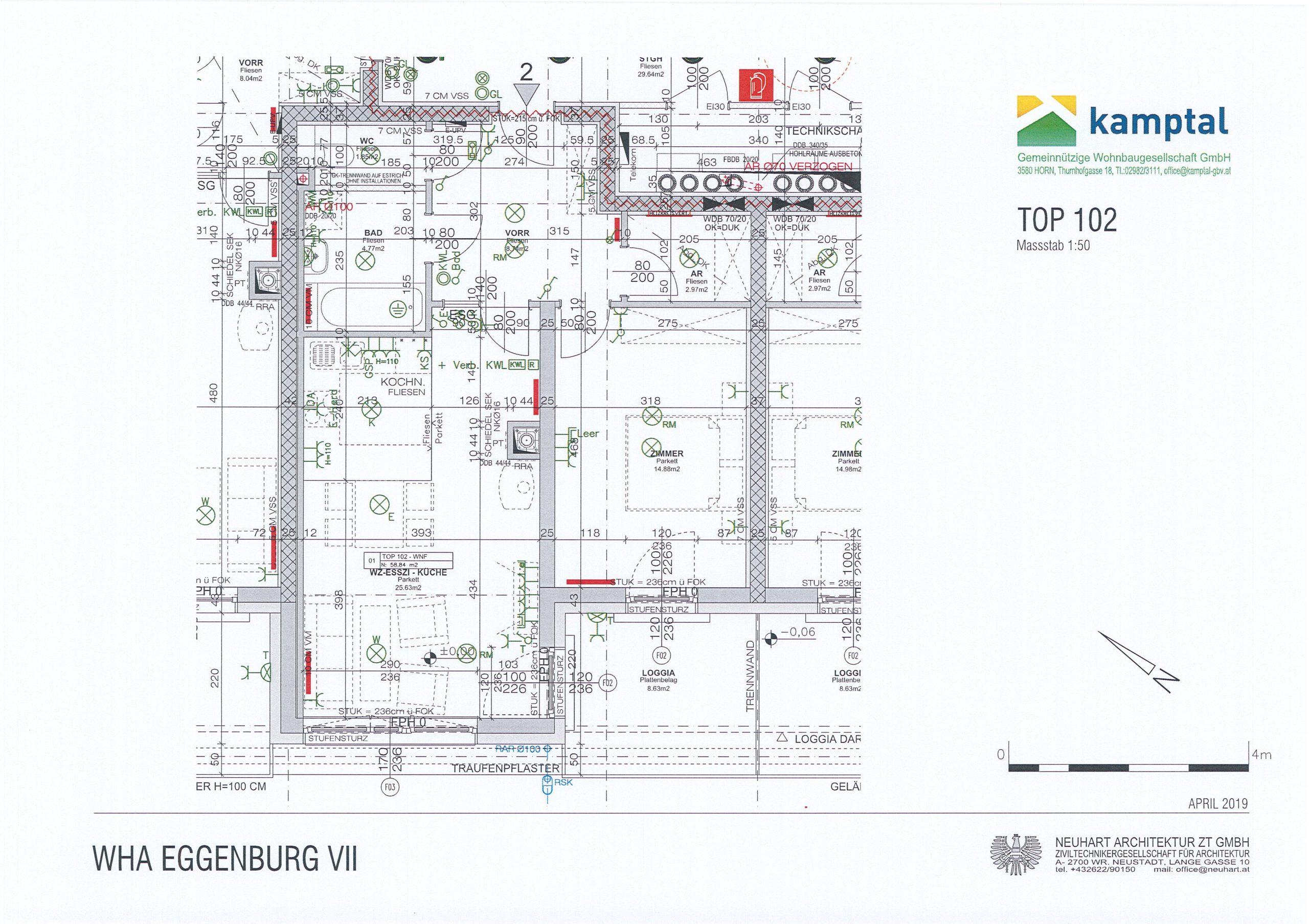 Immobilie von Kamptal in 3730 Eggenburg, Horn - Top: 102 #1