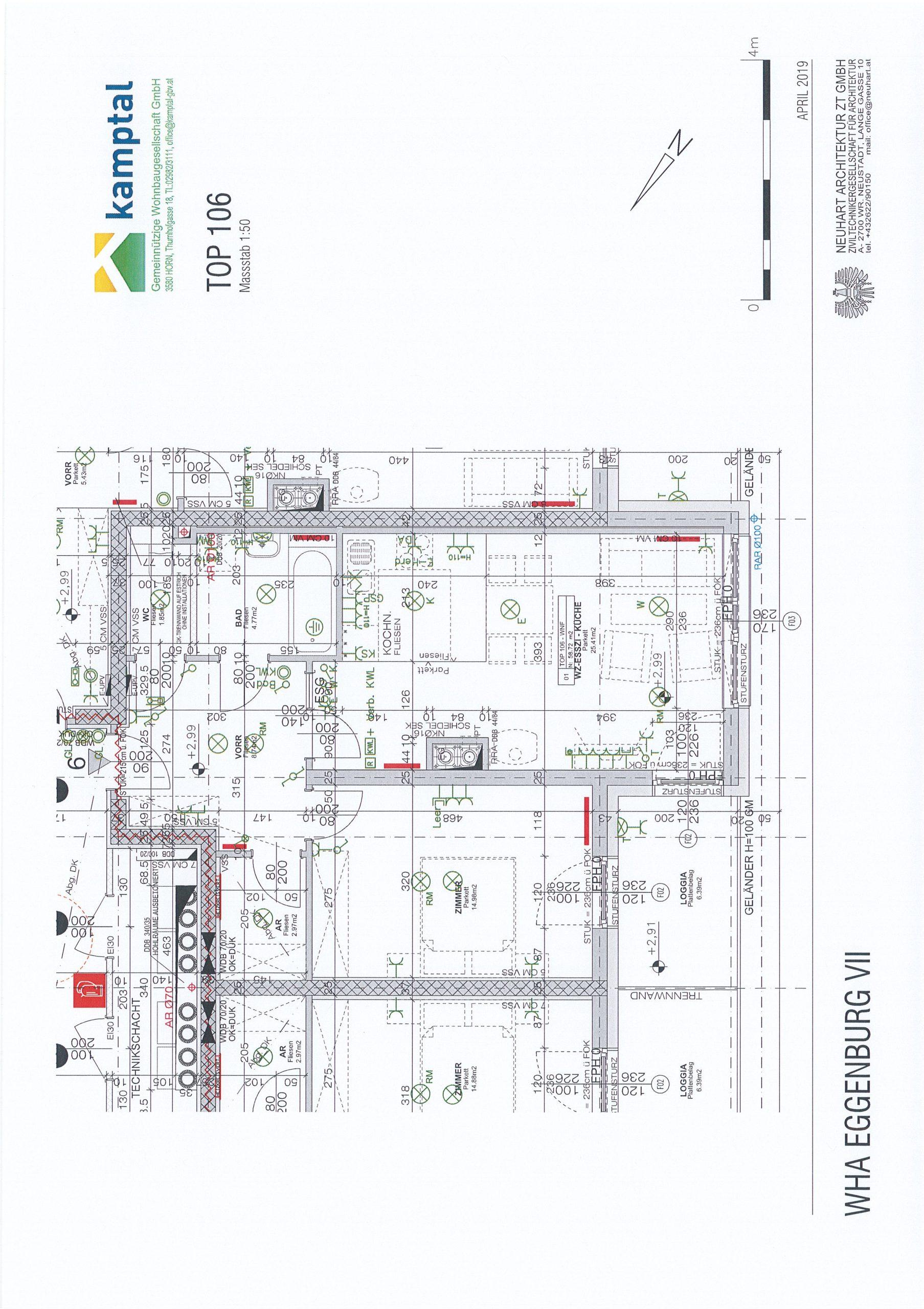 Immobilie von Kamptal in 3730 Eggenburg, Horn, Eggenburg VII - Top 106 #10
