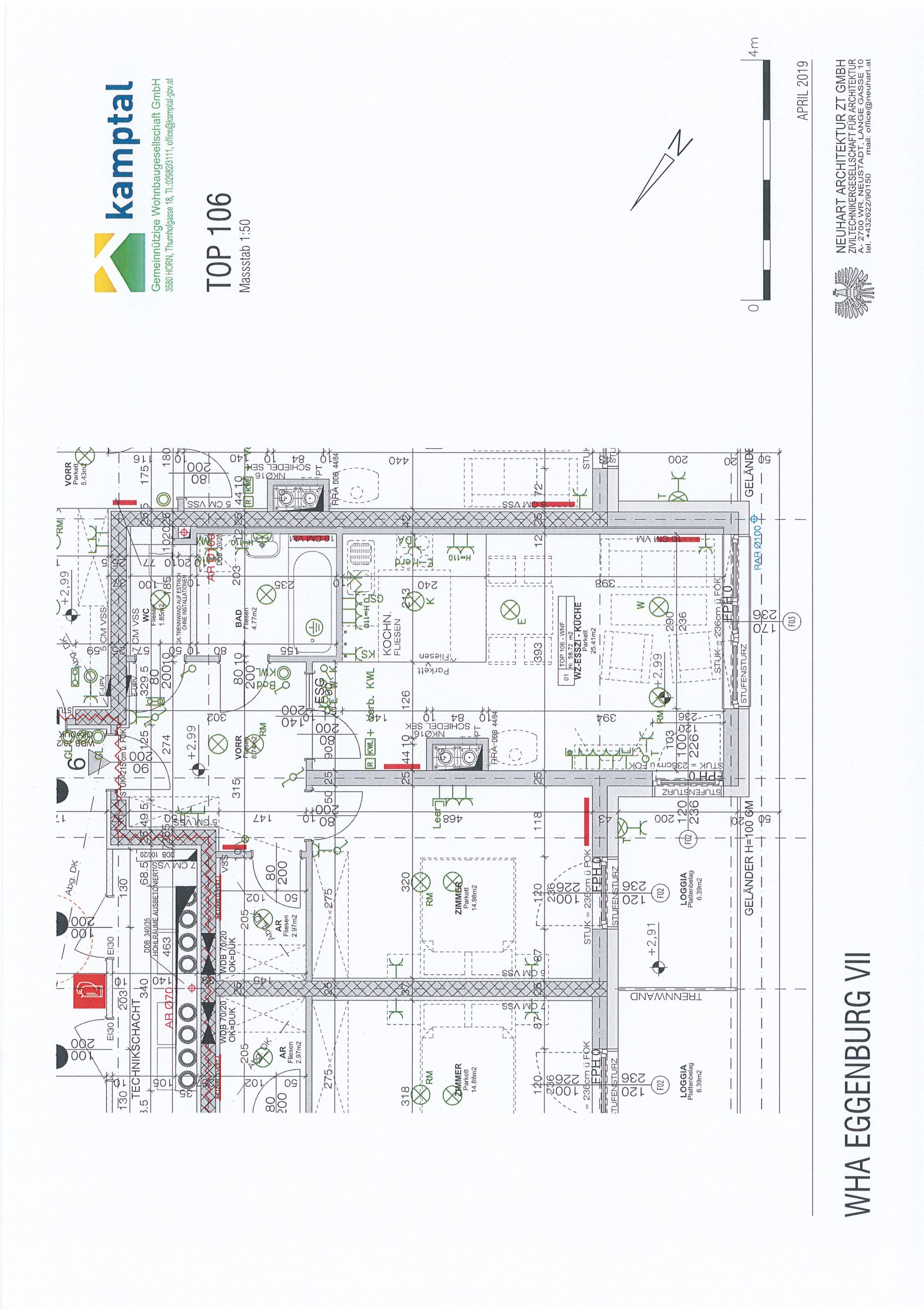 Immobilie von Kamptal in 3730 Eggenburg, Horn, Eggenburg VII - Top 106 #9