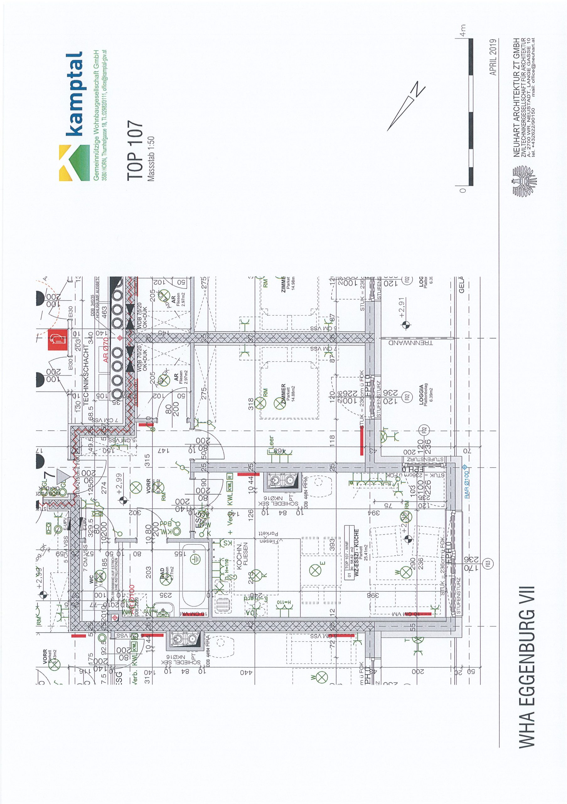 Immobilie von Kamptal in 3730 Eggenburg, Horn, Eggenburg VII - Top 107 #10