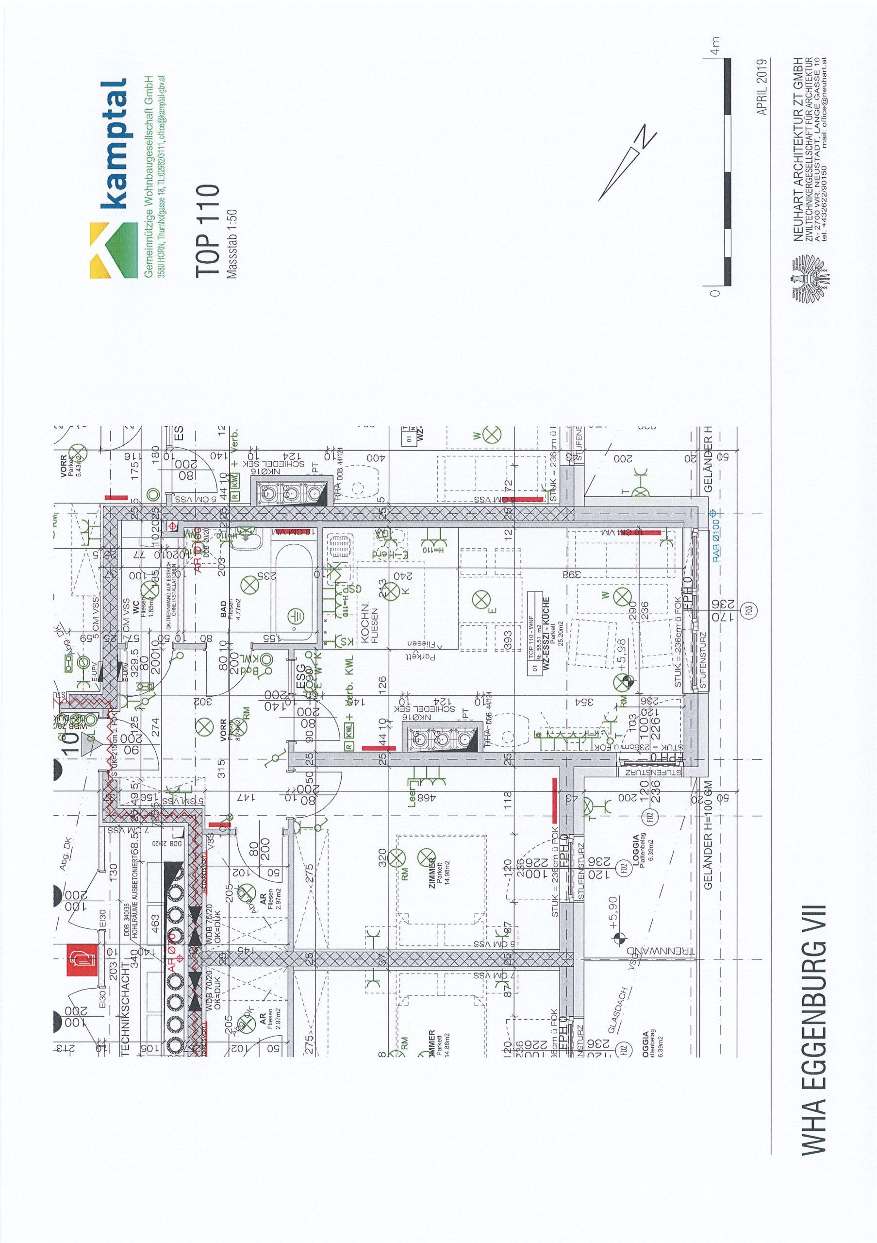Immobilie von Kamptal in 3730 Eggenburg, Horn - Top: 110 #1
