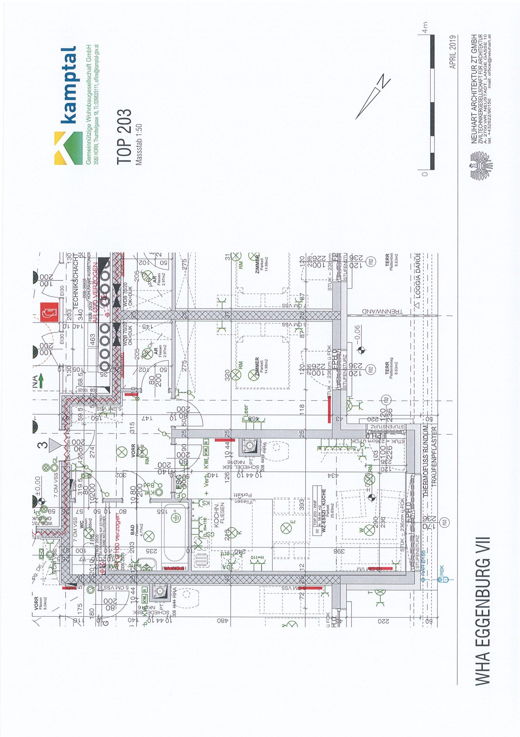 Immobilie von Kamptal in 3730 Eggenburg, Horn, Eggenburg VII - Top 203 #8