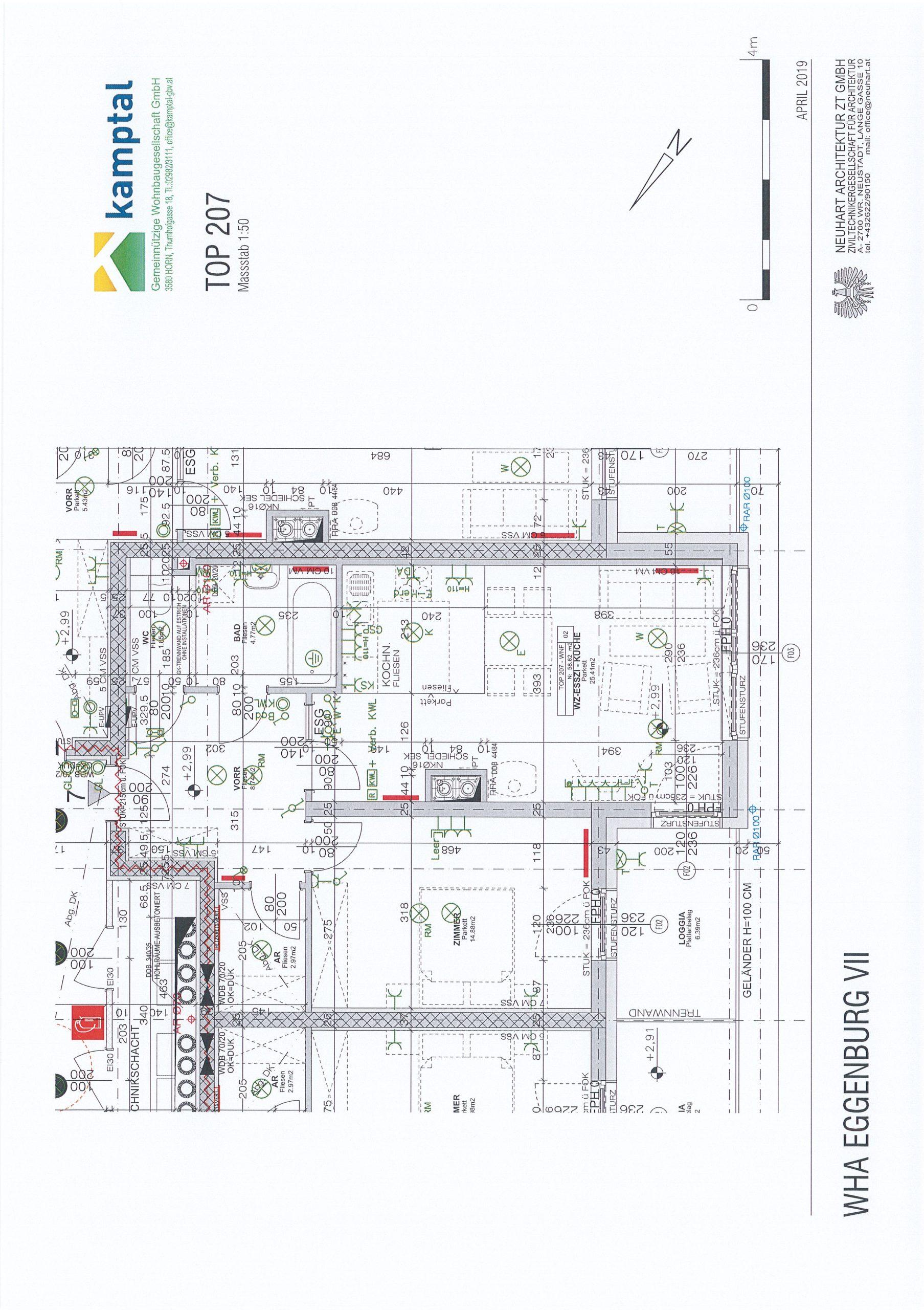 Immobilie von Kamptal in 3730 Eggenburg, Horn, Eggenburg VII - Top 207 #10