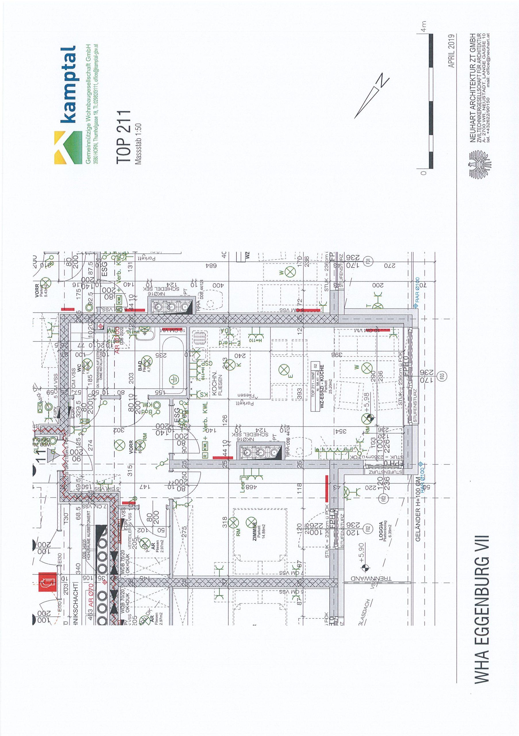 Immobilie von Kamptal in 3730 Eggenburg, Horn, Eggenburg VII - Top 211 #5