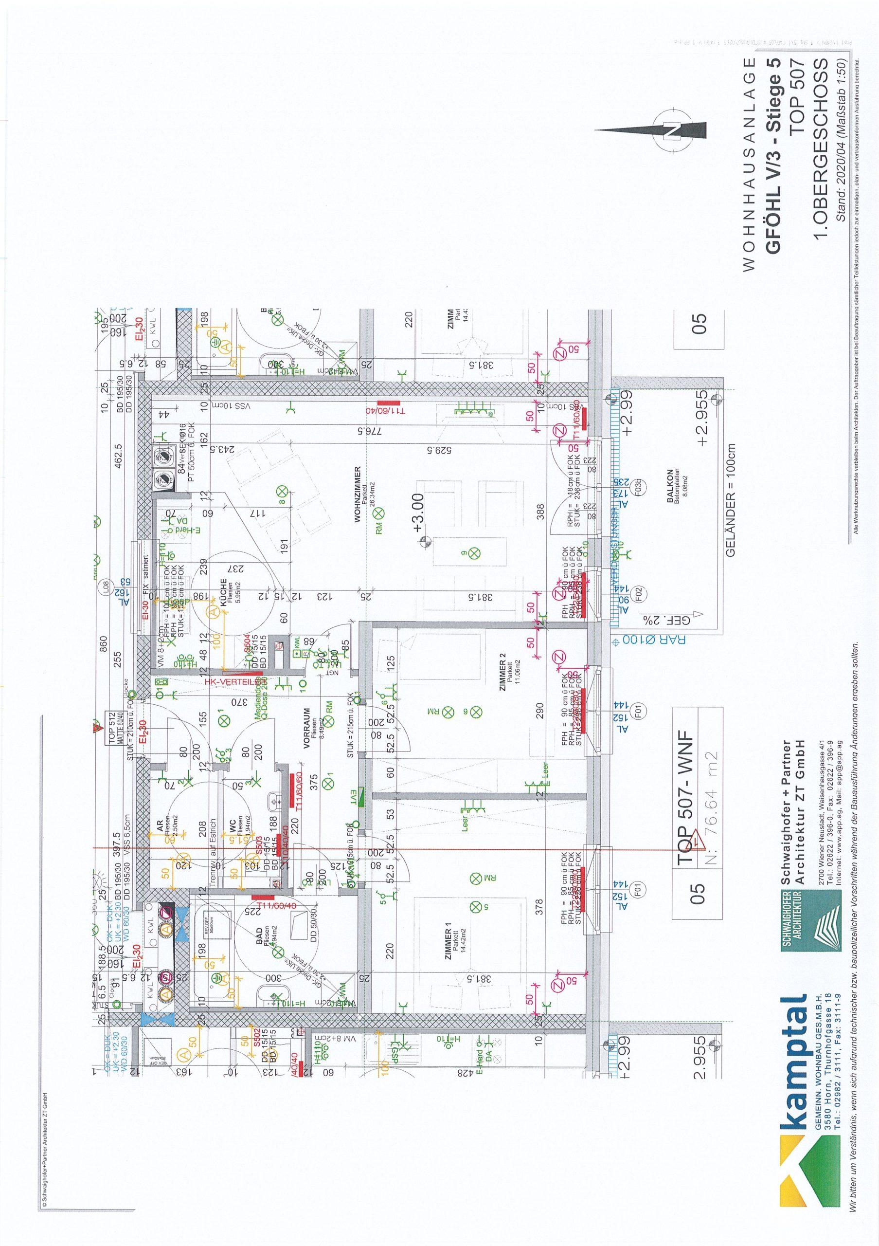 Immobilie von Kamptal in 3542 Gföhl, Krems(Land), Gföhl V/3 - Top 507 #0