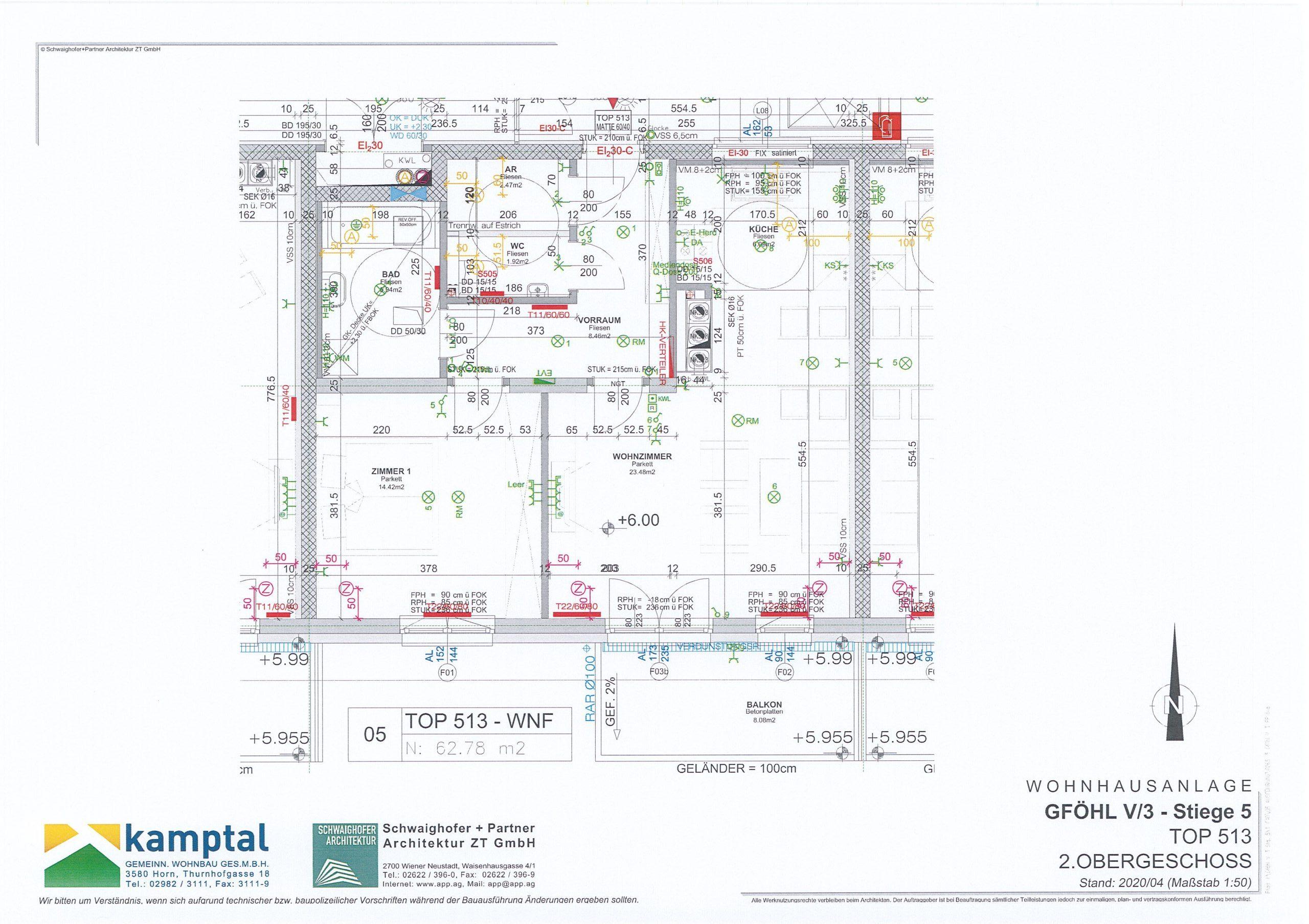 Immobilie von Kamptal in 3542 Gföhl, Krems(Land), Gföhl V/3 - Top 513 #6