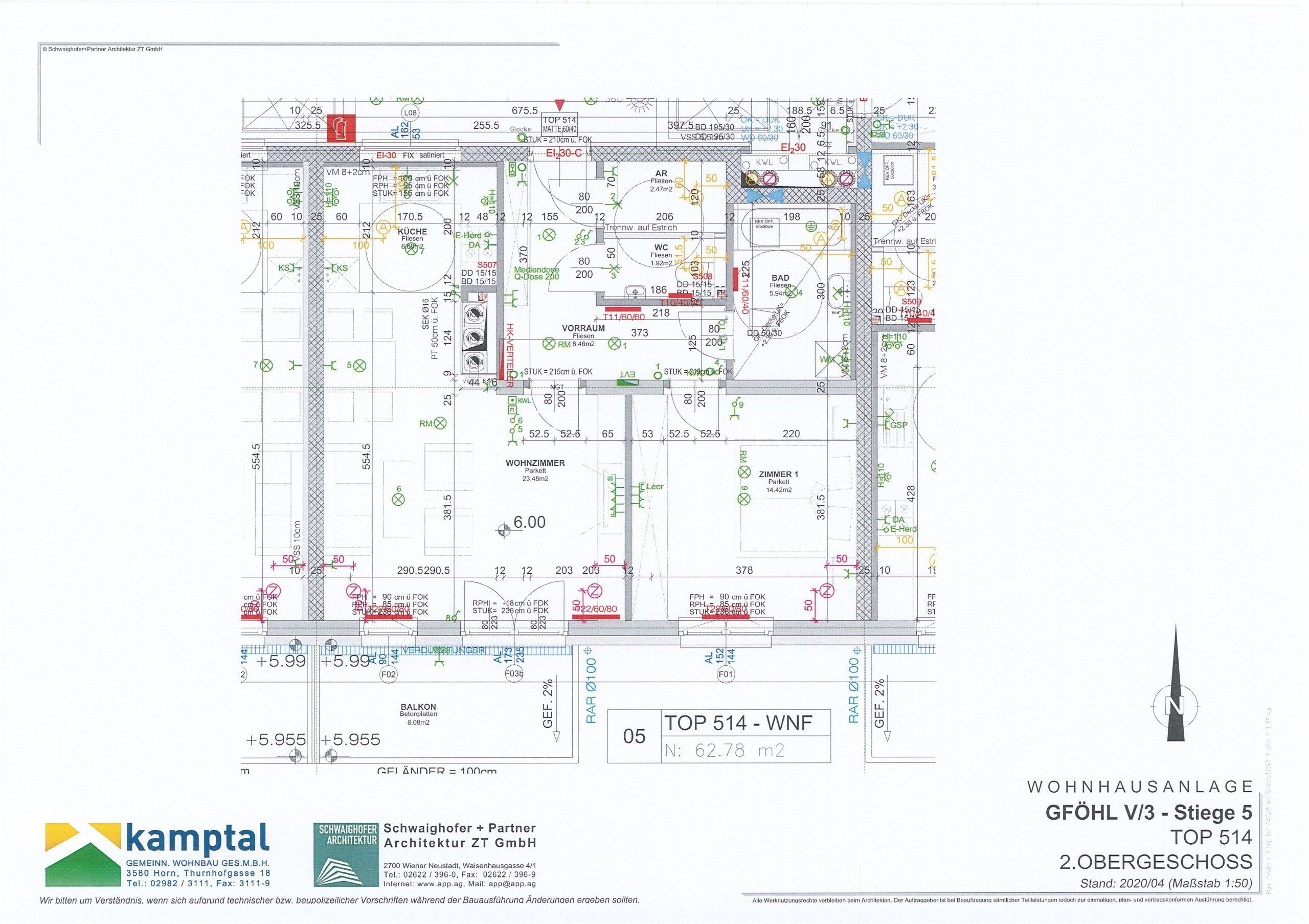 Immobilie von Kamptal in 3542 Gföhl, Krems(Land), Gföhl V/3 - Top 514 #6
