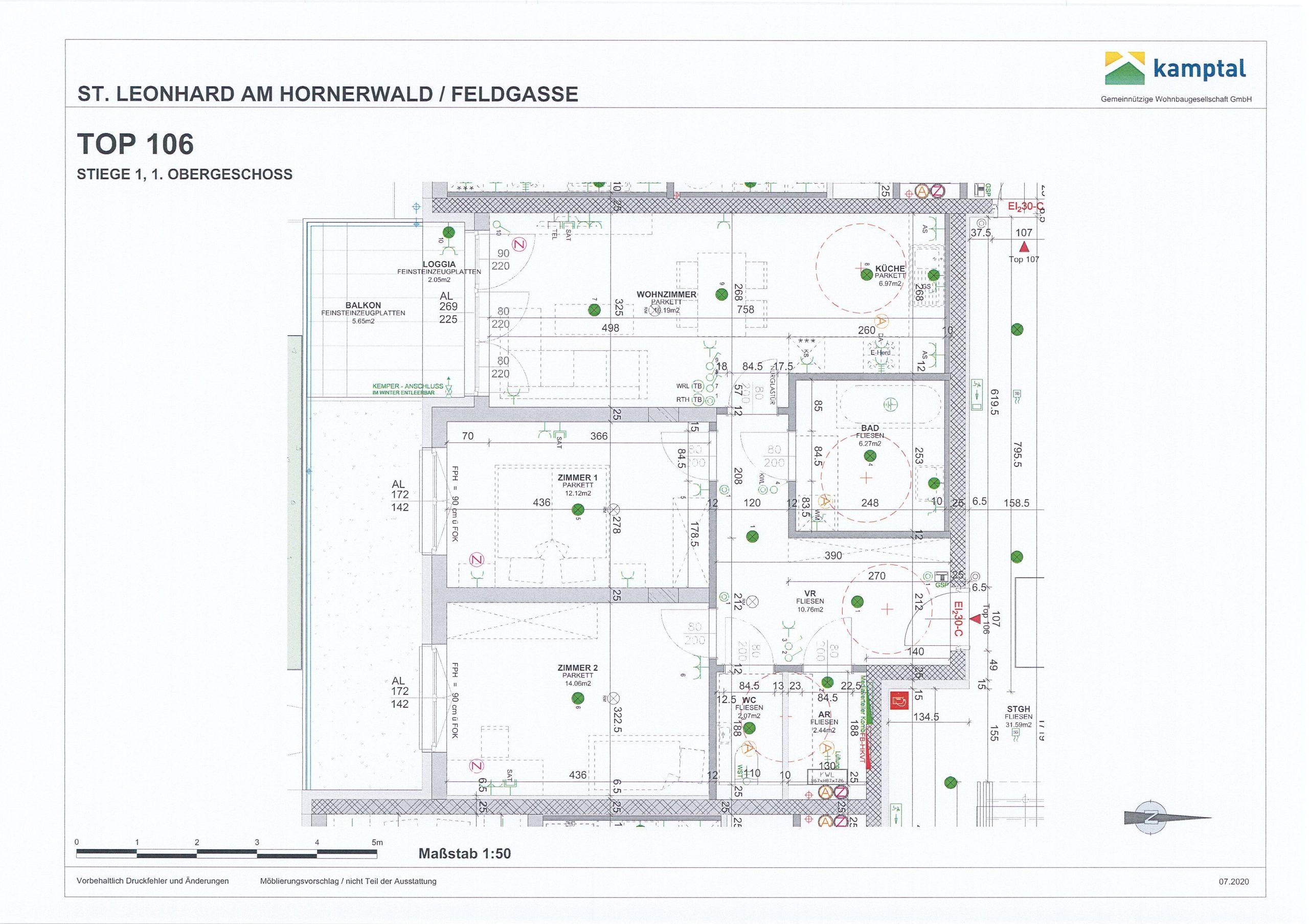 Immobilie von Kamptal in 3572 St. Leonhard am Hornerwald, Krems(Land), St. Leonhard/Hw. III/1 - Top 106 #0