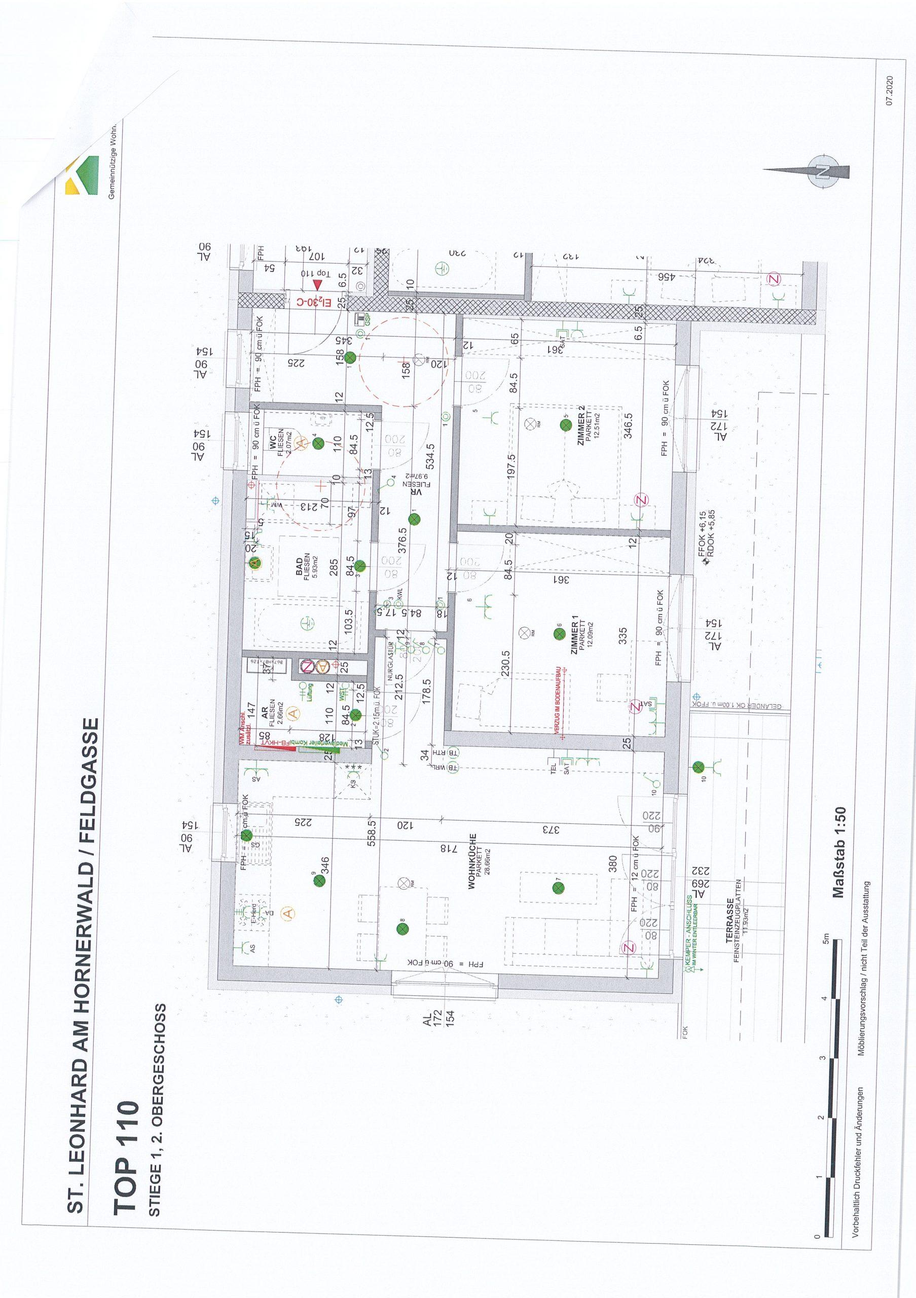 Immobilie von Kamptal in 3572 St. Leonhard am Hornerwald, Krems(Land), St. Leonhard/Hw. III/1 - Top 110 #0