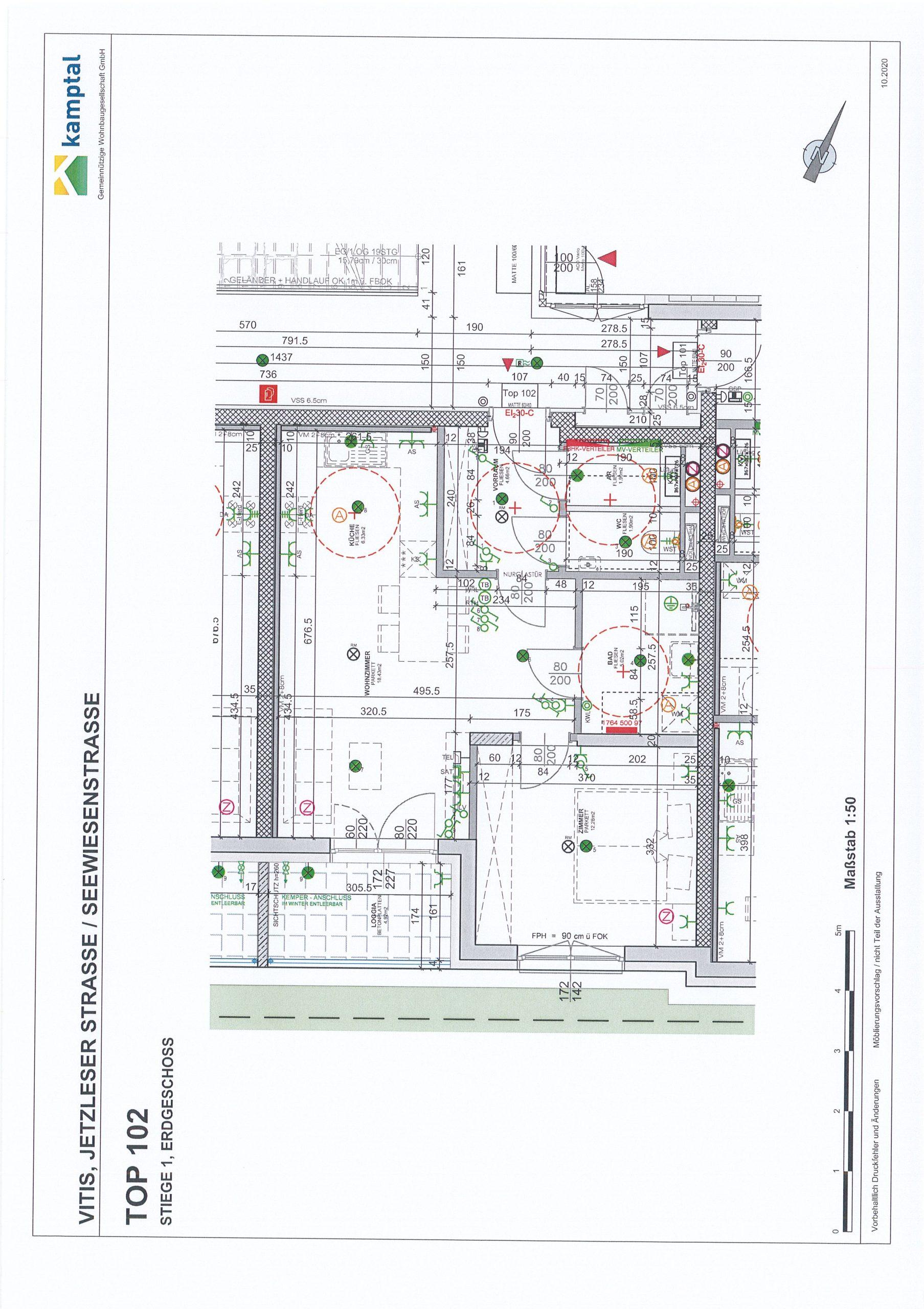 Immobilie von Kamptal in 3902 Vitis, Waidhofen an der Thaya, Vitis I - Top 102 #0
