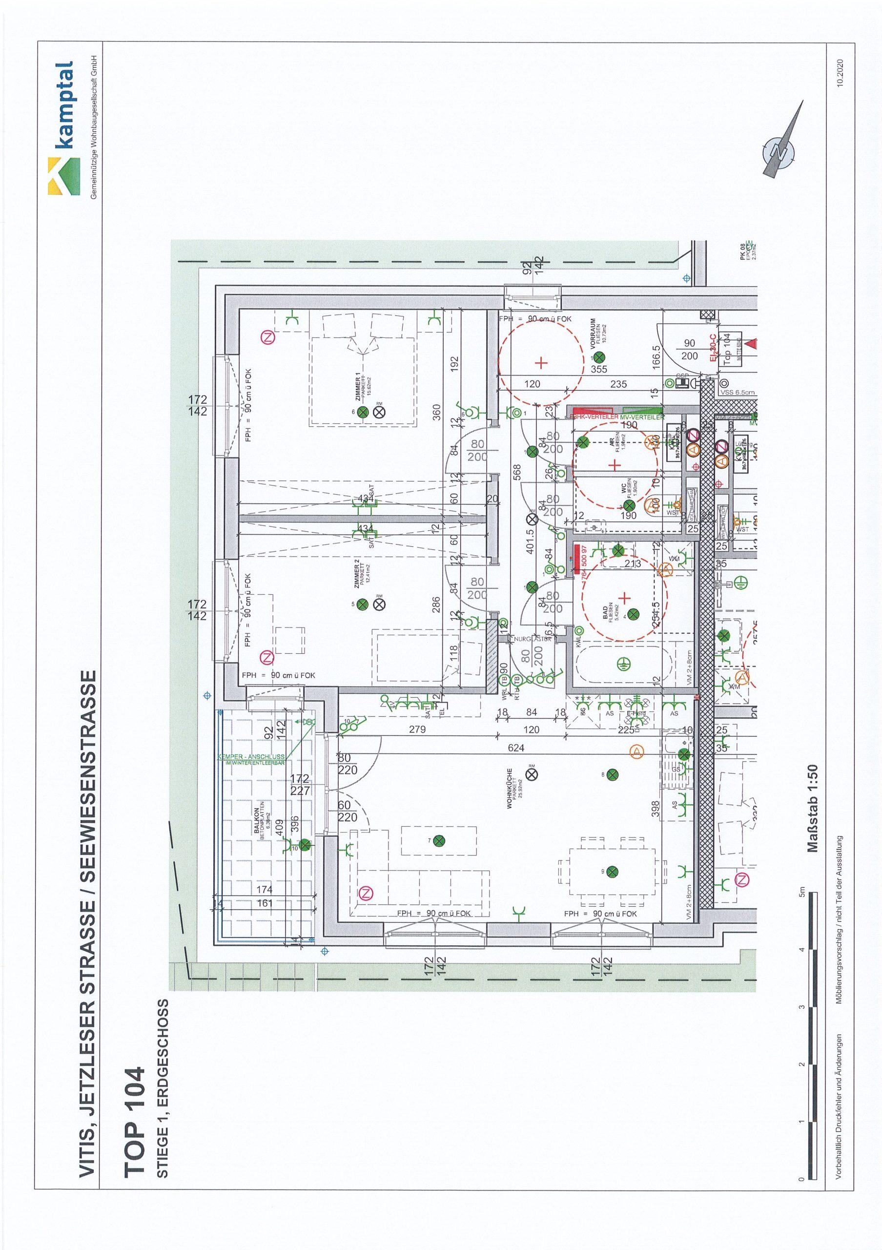 Immobilie von Kamptal in 3902 Vitis, Waidhofen an der Thaya, Vitis I - Top 104 #0