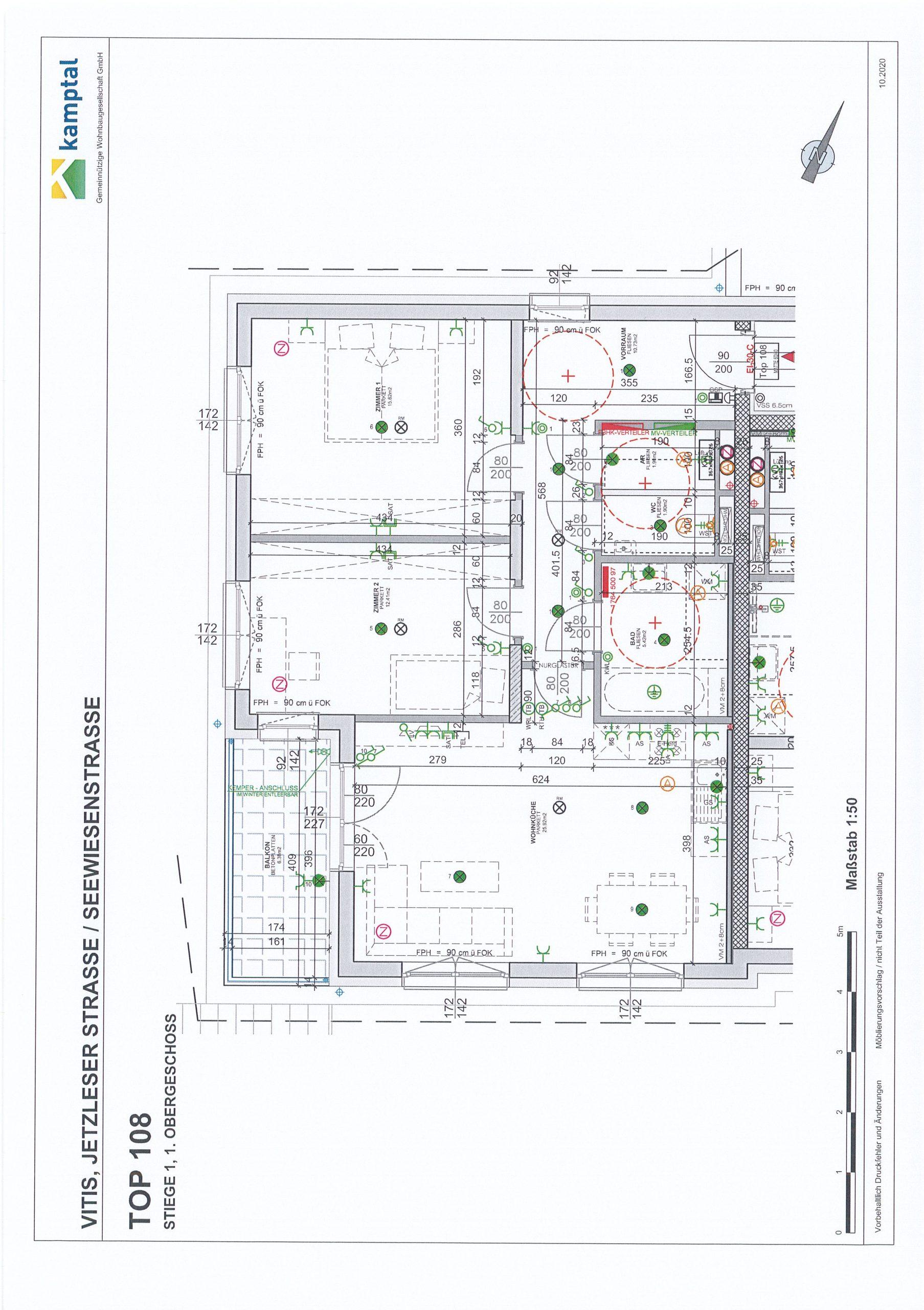 Immobilie von Kamptal in 3902 Vitis, Waidhofen an der Thaya, Vitis I - Top 108 #0