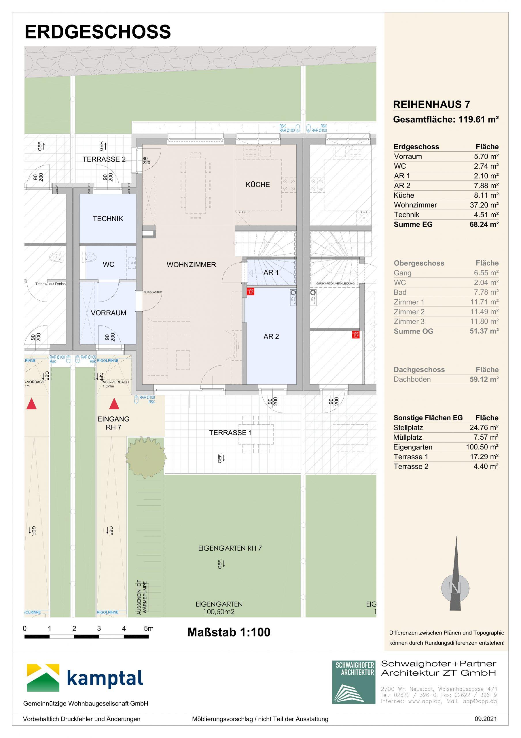 Immobilie von Kamptal in 3572 St. Leonhard am Hornerwald, Krems(Land), St. Leonhard/Hw. III/2 - Top 7 #1