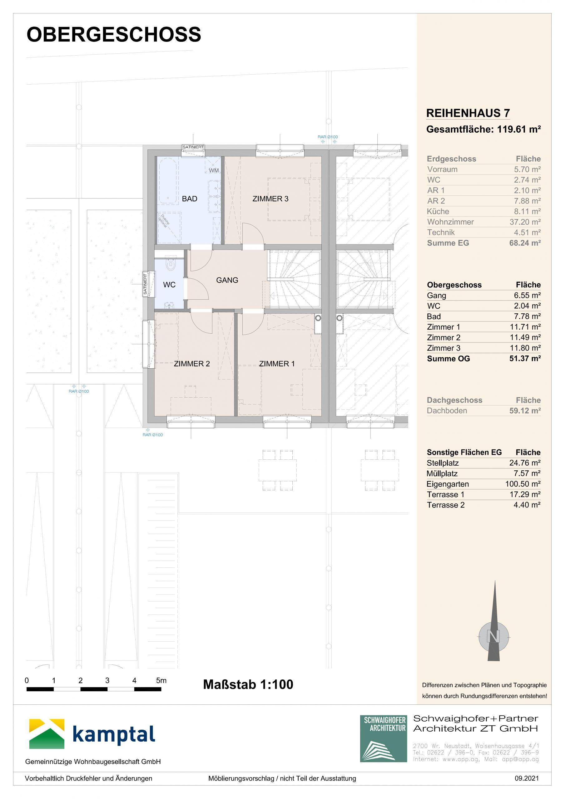 Immobilie von Kamptal in 3572 St. Leonhard am Hornerwald, Krems(Land), St. Leonhard/Hw. III/2 - Top 7 #2