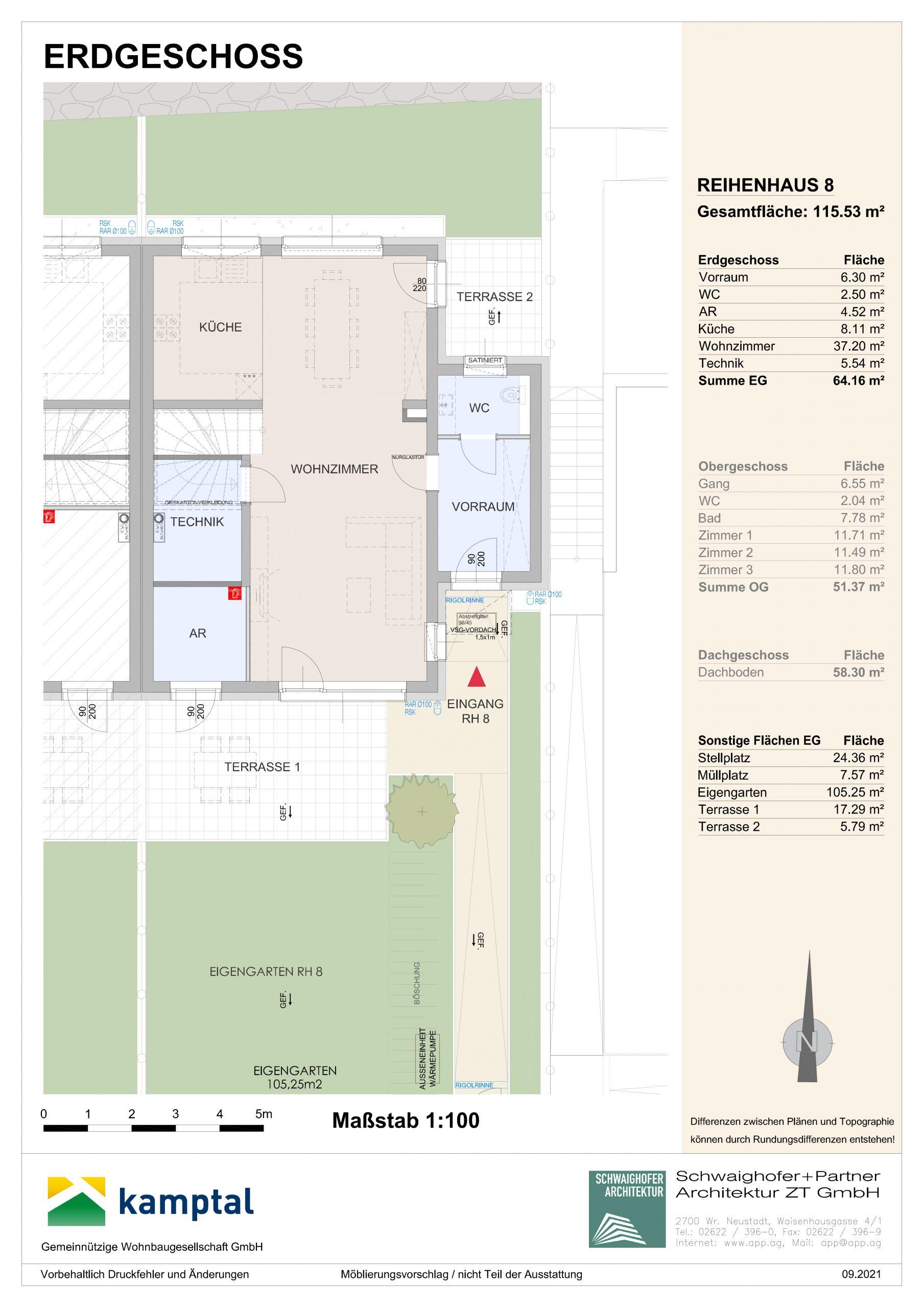 Immobilie von Kamptal in 3572 St. Leonhard am Hornerwald, Krems(Land), St. Leonhard/Hw. III/2 - Top 8 #1