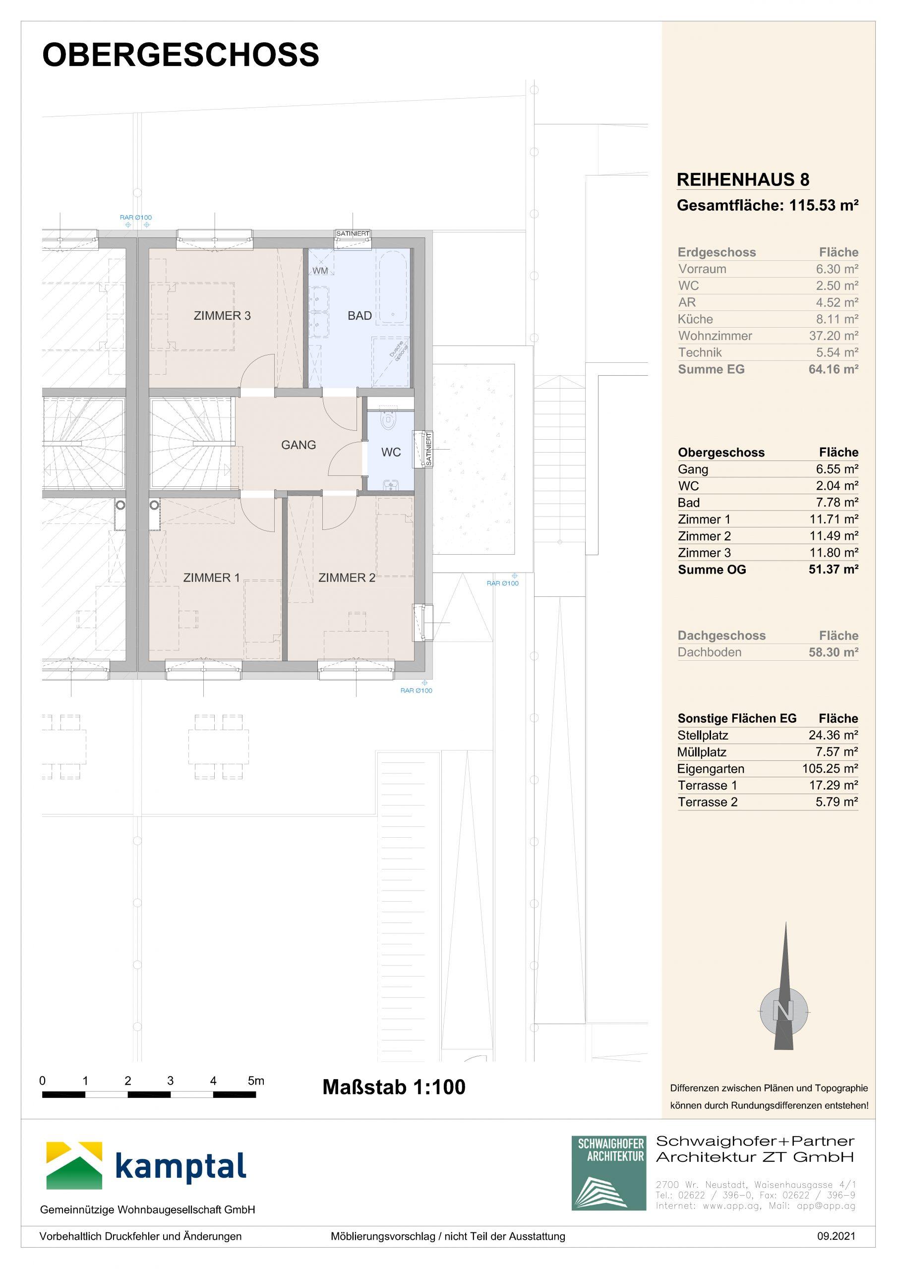 Immobilie von Kamptal in 3572 St. Leonhard am Hornerwald, Krems(Land), St. Leonhard/Hw. III/2 - Top 8 #2